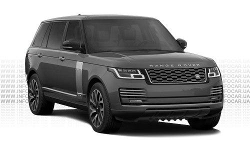 Цвета Range Rover